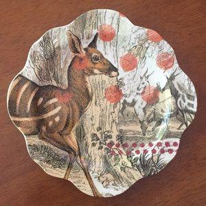 SALE‼️ Anthropologie Woodland Plate